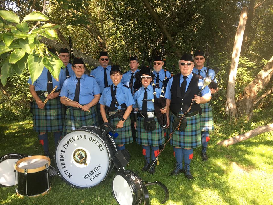 Robbie Burns Dinner featuring The McLaren Pipe & Drum Band
