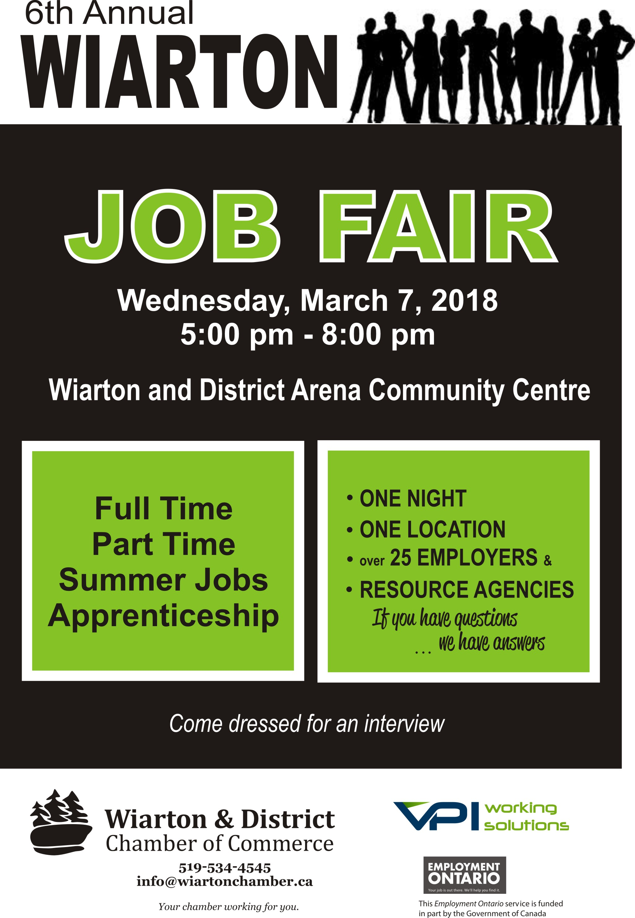 6th Annual Wiarton Job Fair