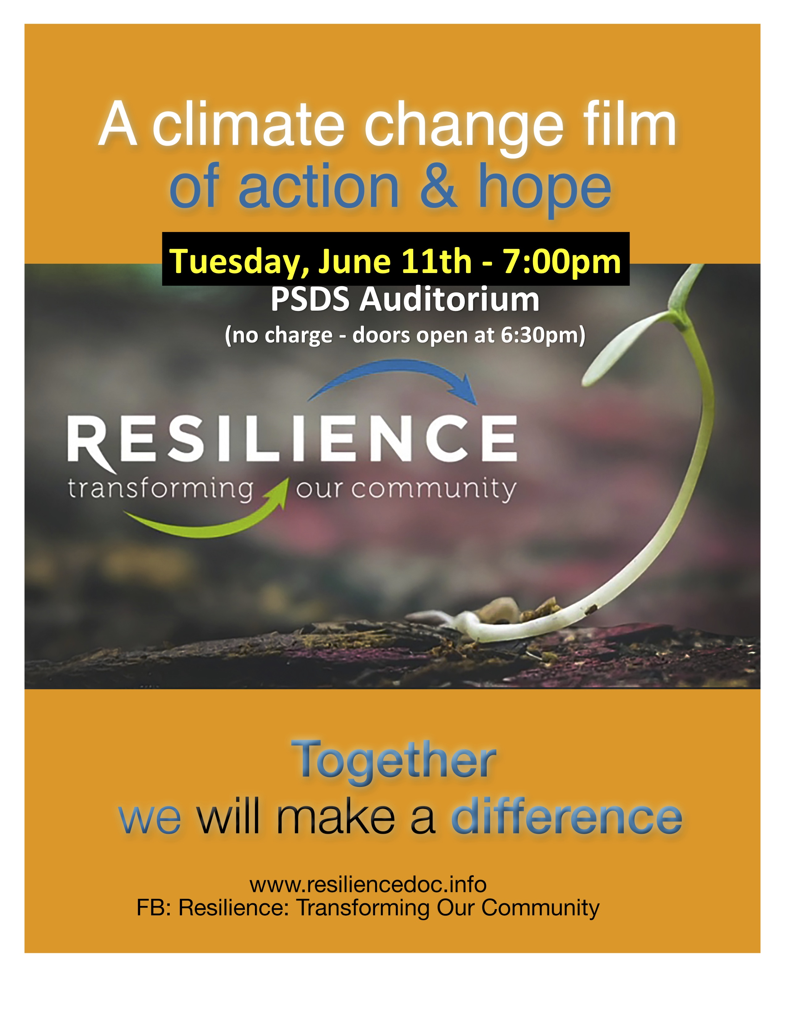 Wiarton Screening of Resilience: local documentary