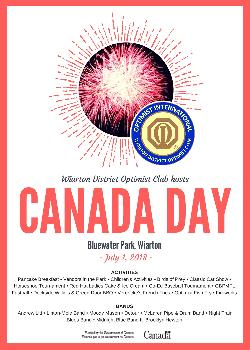 Wiarton Optimist Club Canada Day Celebrations