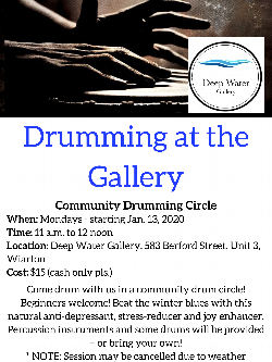 Drumming In The Gallery