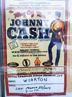 The Ring of Fire, The Johnny Cash Experience